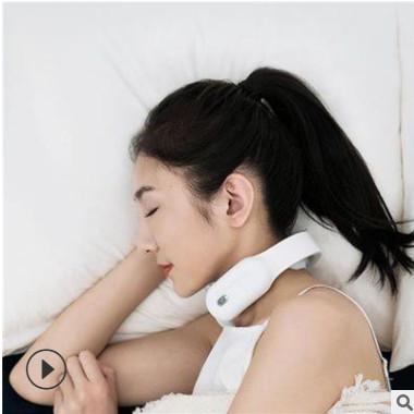 ems迷你颈椎按摩器小型按摩贴穴位脉冲多功能家用理疗肩颈按摩贴