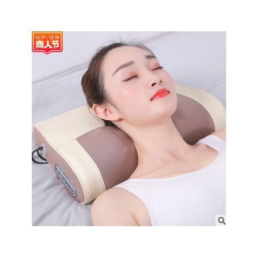 艾灸助睡眠颈椎颈部按摩器脊椎肩部按摩枕头劲椎理疗护颈肩颈智能