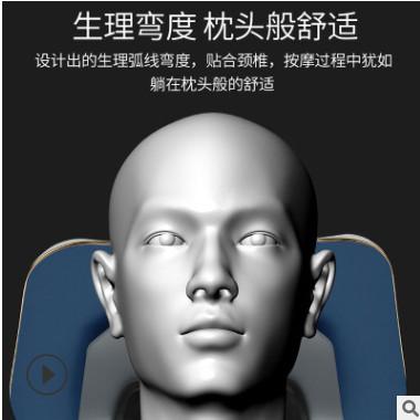 智能颈椎按摩器多功能便携式理疗仪肩部颈部按摩仪器