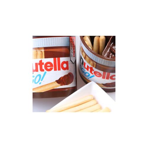 nutella费列罗能多益榛子巧克力酱手指饼手指饼干进口零食