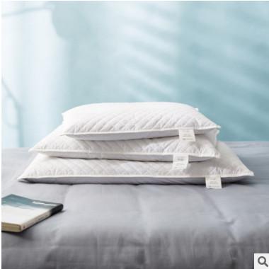 纯棉荞麦枕助眠护颈枕简约透气枕芯立体功能睡眠枕可清洗厂家直供