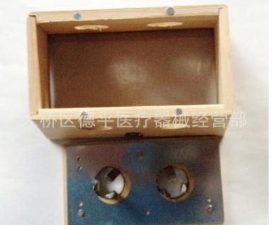 批发竹制艾灸盒 多用双孔艾灸盒 灸盒批发