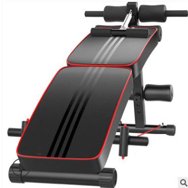 折叠便携仰卧板男多功能腹肌板女收腹运动仰卧起坐健身器家用礼品