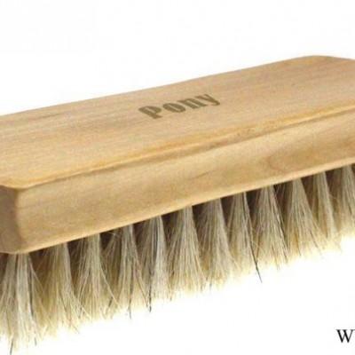 出口马毛大方刷、木制鞋刷 用于皮具护理不伤皮(shoe br
