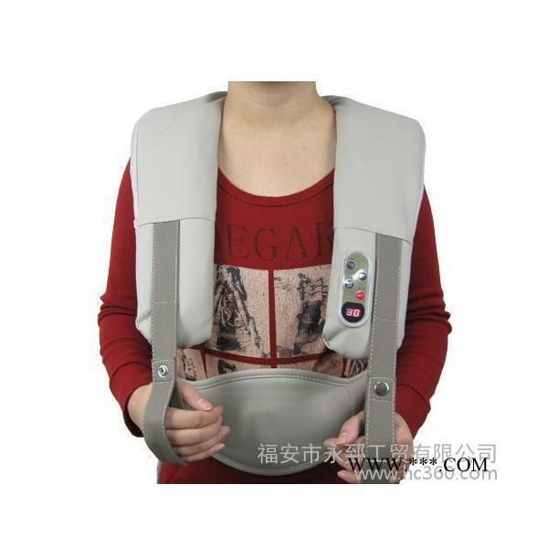 新品上市 乐士健摩乐衣 肩背按摩器 腰背护理机 多功能多组合设计