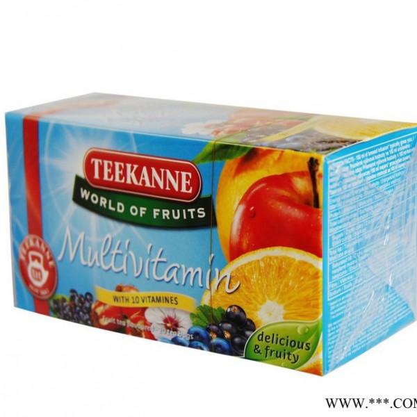 缇喀纳(TEEKANNE) 多种维生素水果茶 袋泡茶 德国进口20*2.5g包邮