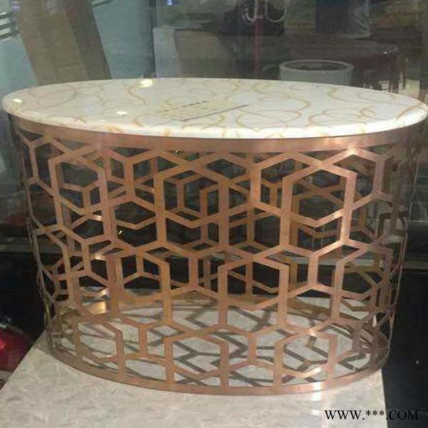 不锈钢镜面玫瑰金蛇形桌子脚  造形茶几 不锈钢雕花玫瑰金茶几 餐桌脚 可来图定做