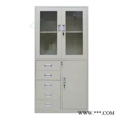 茶山铁皮文件柜 铁文件柜 加厚文件柜