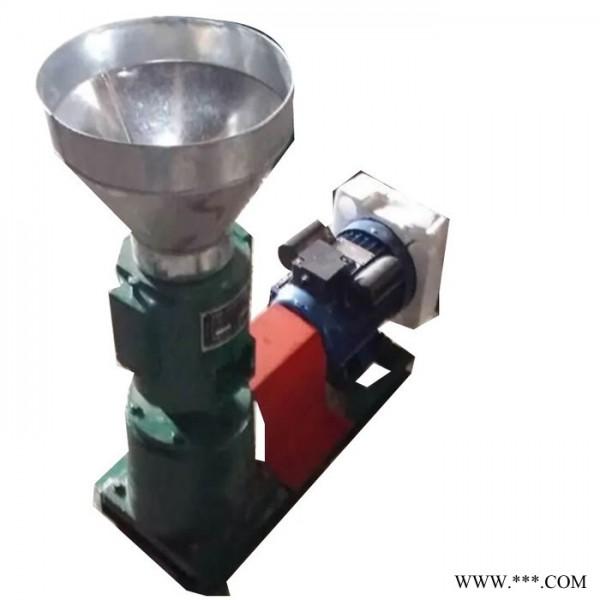 **小型 养殖草粉搅拌颗粒机 多功能饲料机 绿茶猫砂制粒机 平模颗粒机