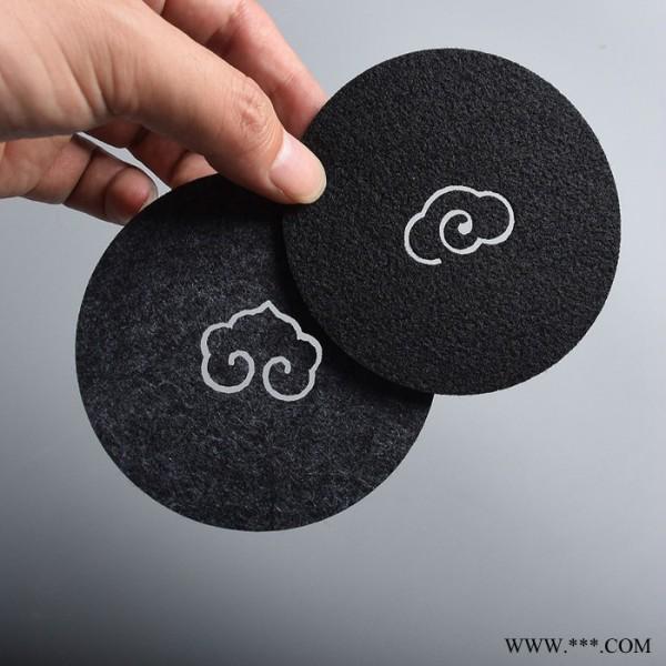 宇国 毛毡茶杯壶隔热垫 吸水性好 无纺布 可按需定做样式 杯垫