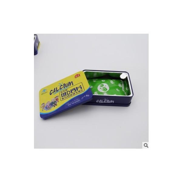 厂家直销维D钙片维生素咀嚼片铁盒装现货批发OEM定制量大从优
