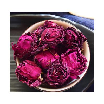 玫瑰花冠 大朵墨红 重瓣红玫瑰 30克罐装花草茶玫瑰花厂家直销