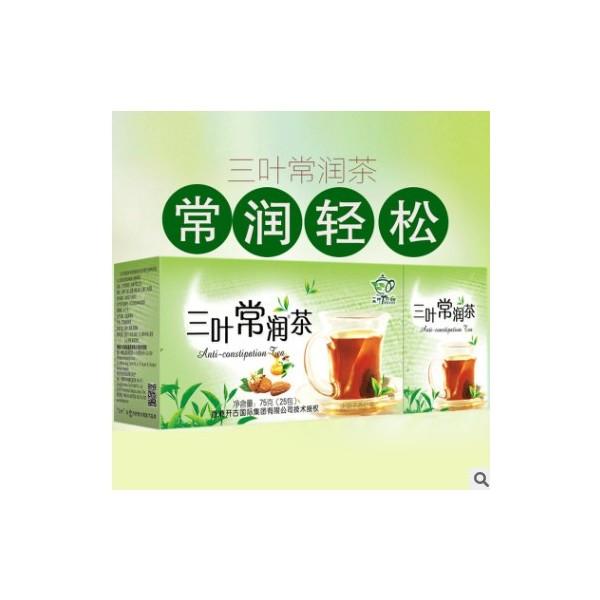 常润茶 三叶常润 决明子、杏仁、绿茶、蜂蜜、桑叶、火麻仁