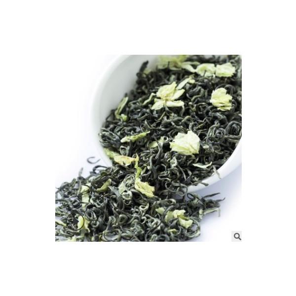 茉莉花茶2020新茶碧潭级蜀茗润飘雪茉莉花茶散装茶叶批发一件代发