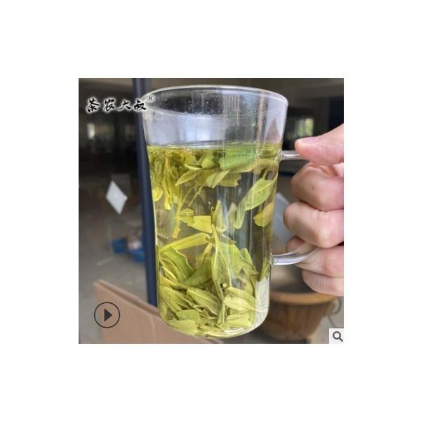 茶农大叔 龙井茶 2020新茶叶 大佛钱塘绿茶 散装批发低档走量500g