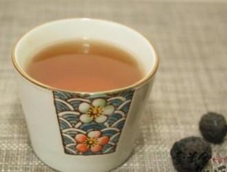 """太子乌梅茶,出自广东省中医院""""德叔养生药膳房""""的茶饮"""