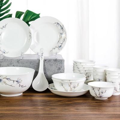 金玉兰骨质瓷餐具
