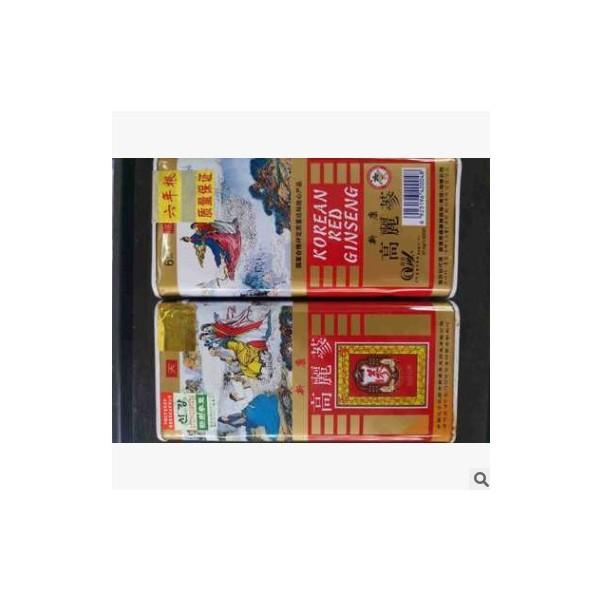 新康启运牌高丽参老包装37.5克5条老高丽参2012年