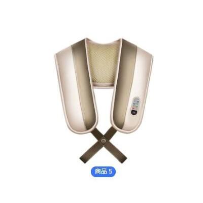 颈椎按摩器揉捏电加热敷按摩枕头肩颈腰部家用全身按靠垫礼品定制