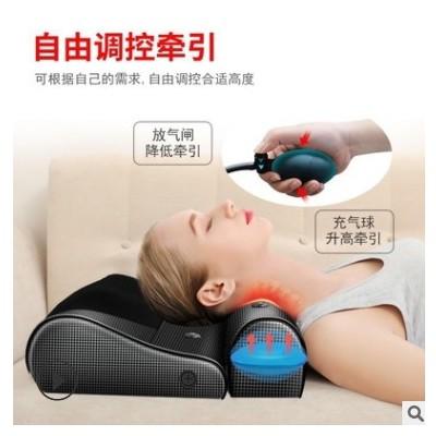 源头工厂按摩枕揉捏气囊颈部腰部热敷按摩器AB枕批发厂家老人用品
