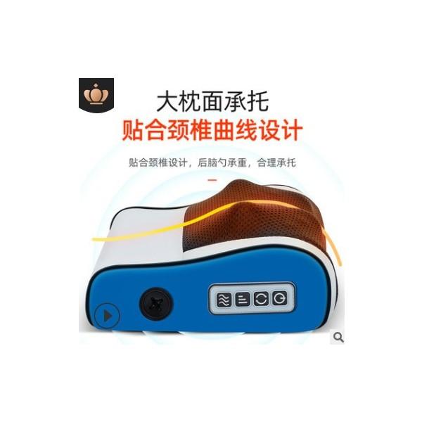 颈椎按摩仪揉捏按摩枕加热肩颈腰部全身舒缓电动按摩器礼品家用